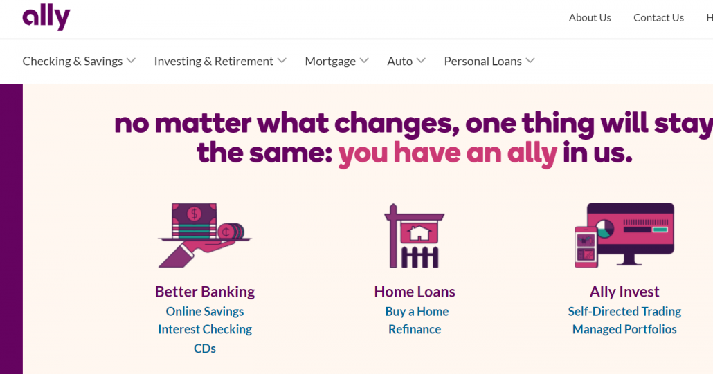 ALLY BANK ONLINE